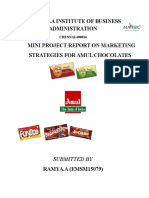 Organisational Behaviour_Mini Project_Amul Chocolate_Marketing Strategy