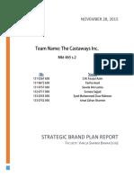Brand Plan Report