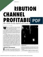 Manning (1995) 'Distribution Channel Profitability'