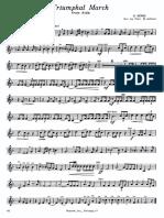 Triumphal March Parts (Brass Ensemble)