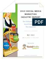 social media marketing industryreport 2013