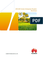 HUAWEI AR3200 Series Enterprise Routers Datasheet