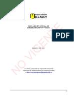 Reglamento General Doctorado 2012