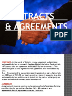 Contracts and Agreements