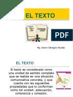 4. EL TEXTO