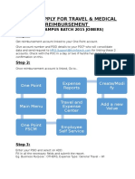HOW to APPLY for Reimbursement