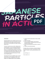 Japanese Particles in Action