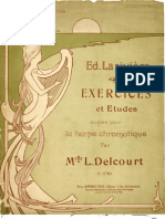 Delcourt_Exercices for Harp Player