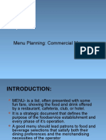 Menu Planning Ppt by jodz