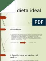 La dieta ideal.pptx
