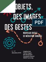 Catalogue de l'exposition « Des objets, des images, des gestes » – Lille