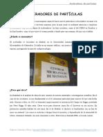 Aceleradores de Partículas (Gabriél Sánchez Pérez)