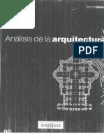 Análisis de La Arquitectura