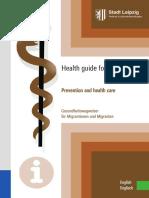 Englisch Gesundheitswegweiser Fuer Migrantinnen Und Migranten 2