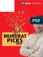 Kotak MUhurat Picks 2015