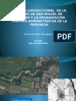 evolucion territorial de Tucumán desde el S XVIII