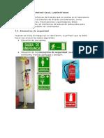 Normas de Seguridad en El Laboratorio