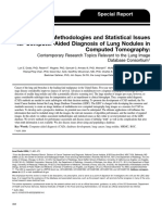 Assessment Methodologies and Statistical Issues