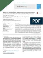 Boron Cross-linked Graphene Oxide Polyvinyl Alcohol Nanocomposite