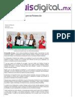 22-01-16 Van Pavlovich y Meade por un Sonora sin pobreza - San Luis Digital