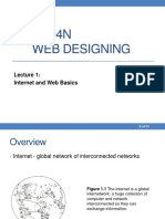 Lecture 1 Internet and Web Basics