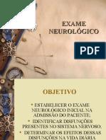 EXAME NEUROLÓGICO ppt