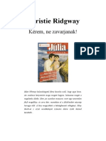 JKSZ 2002 3 (b) - Christie Ridgway - Kérem, Ne Zavarjanak!
