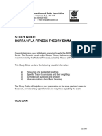 Fitness Theory Study GuideOctober2011