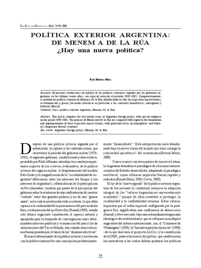Bernal Meza