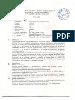 HMC Chaupis 2012-2