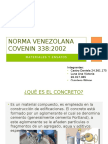 Norma Venezolana COVENIN 338