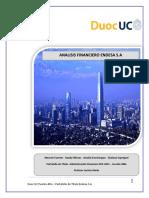 Analisis Financiero ENDESA