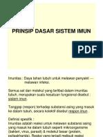 Prinsip Dasar Sistem Imun