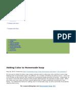 Adding Color to Homemade Soap - Simple Life Mom.pdf