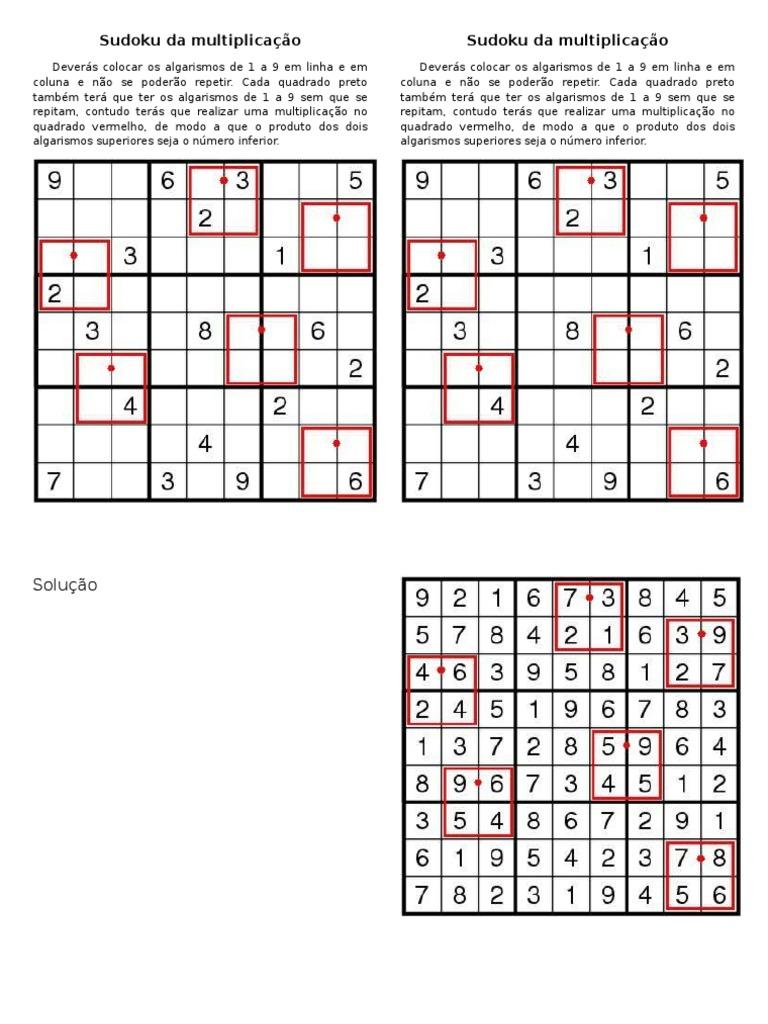 sudoku multipli da