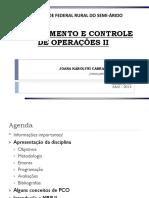 PCOII - Módulo 1 - Aula 1