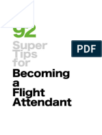 92 Super Tips for Becoming a Flight Attendant