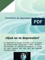 Escala de Depresion de Beck