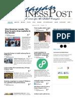 Visayan Business Post 25.01.16