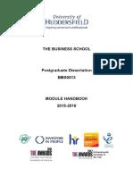 BMS0013 Module Handbook 15-16(3)