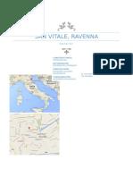 Cronología de la Basílica menor  San Vital de Rávena