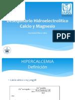 Desequilibrio Hidroelectrolitico Calcio y Magnesio