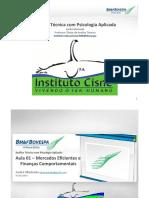 Análise Técnica Instituto Cisne