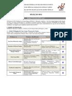 Edital - Processo Seletivo PPGArC-2012