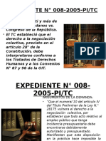 EXPEDIENTE N° 008-2005-PI EXP 0261-2003-AA