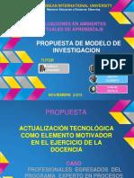 Propuesta de Metodologia para EVALUACIONES EN AMBIENTES  VIRTUALES DE APRENDIZAJE