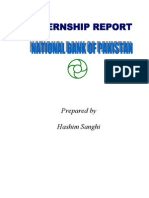 Final Internship Report on NBP