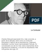 Riky Ledesma- Le Corbusier