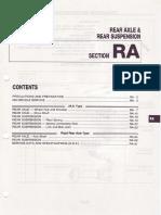 Rear Axle and Suspension C23