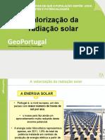 Valorização da radiação solar